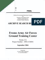 Fresno Army Air Field
