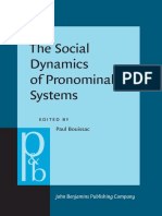 [Pragmatics & Beyond New Series] Paul Bouissac (editor) - The Social Dynamics of Pronominal Systems_ A comparative approach (2019, John Benjamins Publishing Company) - libgen.lc.pdf
