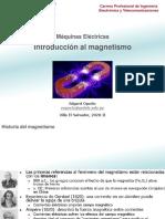 Máquinas Eléctricas - 01 Introducción al magnetismo