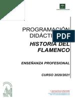 historia del flamenco 2020-21