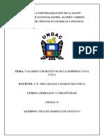VALORES CORPORATIVOS COCA COLA.docx