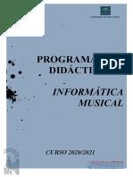 INFORMATICA MUSICAL 20.21