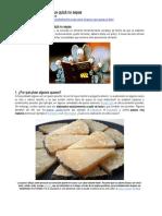 5 cosas sobre el queso que quizá no sepas - puntos blancos