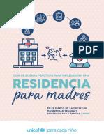 Guía de Buenas Prácticas Para Implementar Una Residencia Para Madres