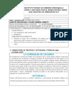 GUIA DE APRENDIZAJE 5  CATEDRA  6º