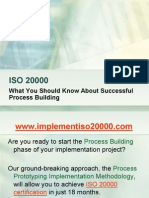 ISO 20000 - What You Should Know About Successful Process Building