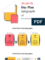 30-60-90 Day Plan Infographics by Slidego