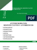 4. Antimicrobianos, desinfectantes