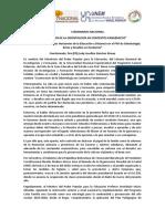 PONENCIA I SEMINARIO DEL PNF ODONTOLOGÍA