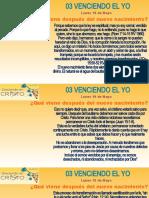 03 VENCIENDO EL YO
