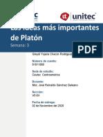 Tarea 3 Las Ideas más importantes de Platón.docx