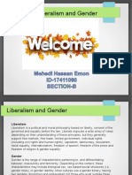 Liberalism and Gender