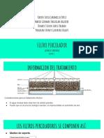 filtro percolador presentacion