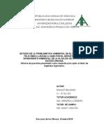 ESTUDIO DE LA PROBLEMÁTICA AMBIENTAL EN EL MUNICIPIO JOSE FELIX RIBAS LLEVADA A CABO POR EL DEPARTAMENTO DE SANEAMIENTO AMBIENTAL DE LA ALCALDIA DE LA VICTORIA ESTADO ARAGUA