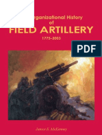 The Organizational History of Field Artillery