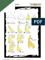 Giraffe Origami[1]