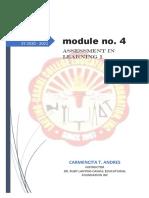 module no 4