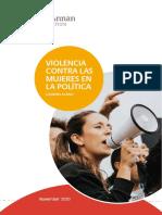 c6172771 Violencia Contra Las Mujeres en La Politica