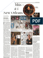 Rauður blús - myndlist í New Orleans