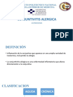 Conjuntivitis Alérgica.