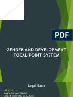 GAD Focal Point System