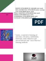Multiple Intelligences& Visual Arts