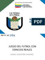 Juego Futbol Espacios Reales