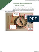 Nociones elementales de orientación con brújula