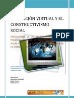 EDUCACIÓN VIRTUAL Y EL CONSTRUCTIVISMO SOCIAL