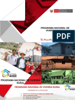 1. PROGRAMA NACIONAL DE VIVIENDA RURAL 06.05.2020