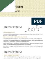 IBUPROFENUM- Descriere Farmacologie