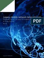 Legacy Mobile Network Rationalisation