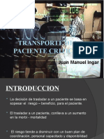 TRANSPORTE CRITICO DE ENFERMOS