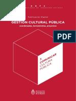 Comunicar Cultura Pública