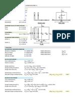 STEEL BASE PLATE Verfication BS EN 1993 1 & 8