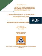 Optical Fiber Transmission Network