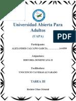 TAREA III