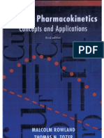 Clinical Pharmacokinetics Concepts and Applications