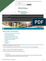 Ressources en ligne SCD _ SCD _ Service Commun de la Documentation _ Université Polytechnique Hauts-de-France