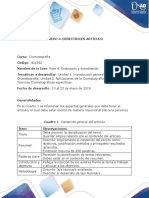 Anexo 4. Directrices Artículo