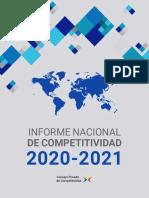 Informe Nacioanl de Competitividad 2020-2021