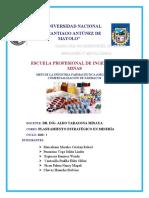 MEFI de la industria farmacéutica (organización, comercialización de fármacos