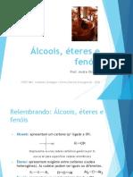 Álcoois, éteres e fenóis - SLIDES
