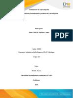 grupo 223_ fase 2 Elección, planteamiento y formulación del problema de investigación