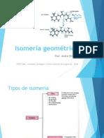 Isomeria geométrica - SLIDES