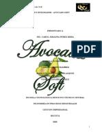 Plan de Negocio - Avocado Soft (1)