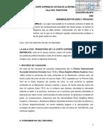 CASACIÓN 4104-2015LIMA- Caso Clínica Internacional- Rosa Mesia vs. Rosa Vásquez