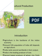 Lecture 6- Agricultural Production