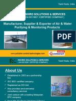 Sewage Treatment Plants Tamil Nadu India