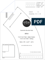 Sorrento Bucket Hat A4 & Letter Home Printout